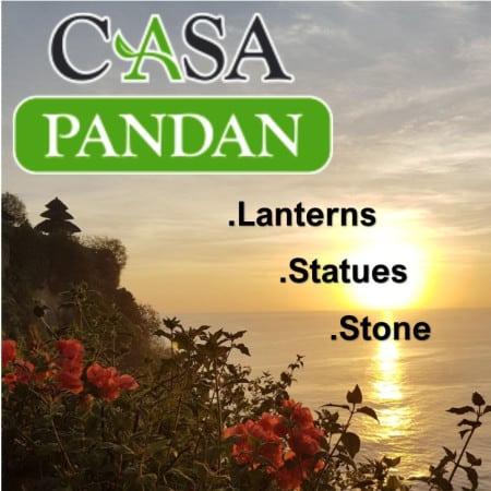 CasaPandan Lanterns.Statue.Stone