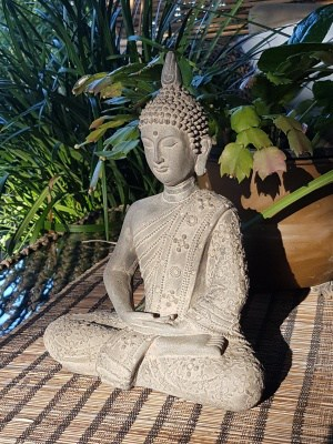 Gautama Buddha - 25x32cm -was the person who began the religion of Buddhism. He wanted to learn the meaning of his existence.