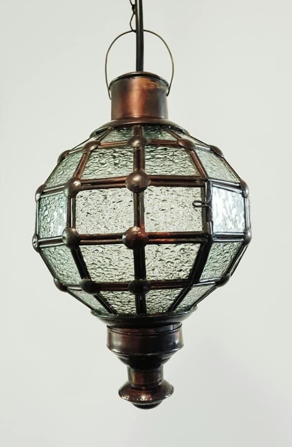 Round CAFE light or lantern - 30x20cm