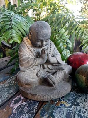 Praying Buddha - 20x18cm Praying Buddha or the Mudra of greeting. The universal greeting and gesture of respect throughout the Buddhist world.
