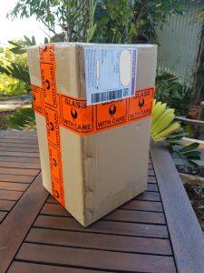 Parcel delivery CasaPandan