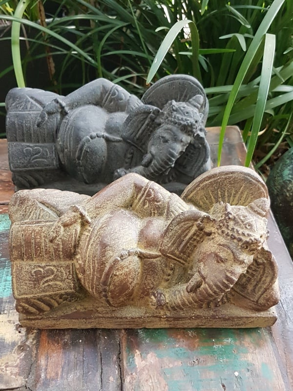 GANESH reading 22x10x10cm GANESH Is revered as the remover of obstacles and bad luck. The patron of arts and sciences and the deva of intellect and wisdom while attracting wealth and success.