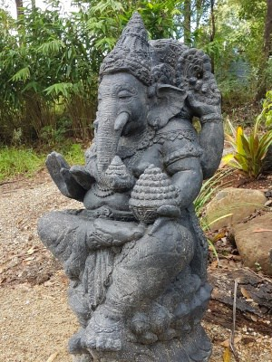 GANESH statue CPS66 - Is revered as the remover of obstacles and bad luck - patron of arts and sciences while attracting wealth and success.